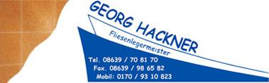 Fliesen Hackner - Neumarkt-St. Veit